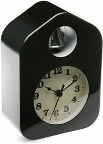 Čierny budík Versa Despertador