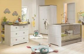 Detská izba Louise P84 - diely - Šatníková skriňa: 103x193x59