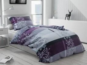 Bavlnené obliečky Luxury fialové