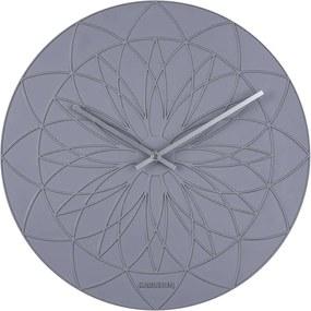 KARLSSON Nástenné hodiny Fairytale šedé