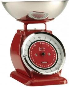 Kuchynská váha TYPHOON Bella Scales, červená
