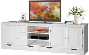 Tv stolík Neo, 220 cm, biela