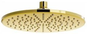 Sprchová hlavice MEXEN I 22 cm zlatá