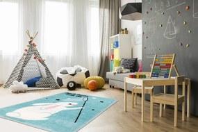 Obsession koberce Dětský kusový koberec Lollipop 181 Bunny - 90x130 cm