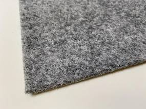 Betap koberce Šedý travní koberec Wembley - Spodní část s nopy (na pevné podklady) cm