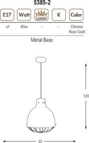 Ozcan OZ 5385-2 Chróm