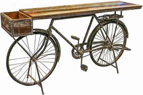 Odkladací stôl s boxom Bicykel, 182 cm