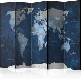 Paraván - Dark Blue World [Room Dividers] 225x172 7-10 dní