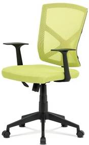 Sconto Kancelárska stolička NORMAN zelená