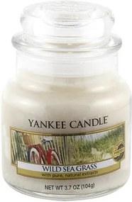 Sviečka v sklenenej dóze Yankee Candle Tráava na pobreží, 104 g