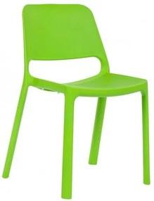 Jedálenská stolička Pixel BR zelená