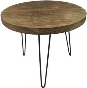 Konferenčný stolík Shape 50x42x50 (svetlé drevo)