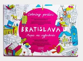 Coloreo Vyfarbovací plagát - maľovanka, Bratislava