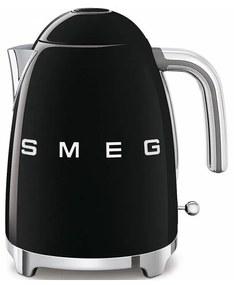 SMEG 50's Retro Style rychlovarná kanvica 1,7l čierna KLF03BLEU, čierna