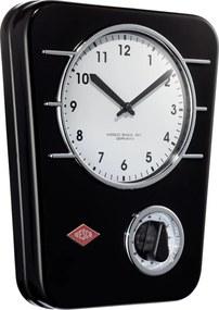 Wesco Kuchynské hodiny s minútkou, čierne