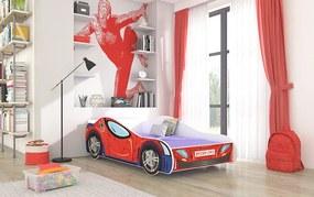 Detská posteľ Spiderman 140x70 cm