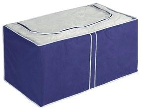 Modrý úložný box Wenko Ocean, 48 × 53 cm