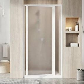 Sprchové dvere Ravak Supernova jednokrídlové 80 cm, nepriehľadné sklo, biely profil 03V40100ZG