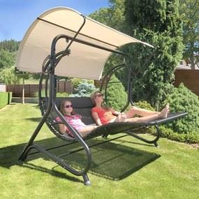 Relaxačné lehátko/hojdačka pro 2 osoby PORTORICO