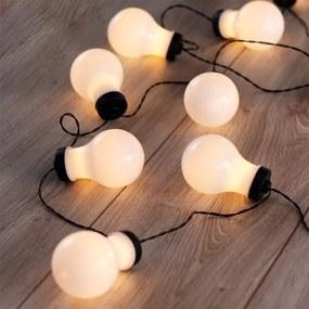 Svetelná reťaz s 10 LED žiarovkami 2,2 m
