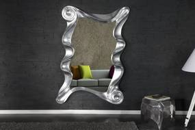 Bighome - Zrkadlo ALICE 160x106 cm - strieborná