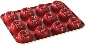 Forma na jednotlivé brownies Bavaria Nordic Ware červená