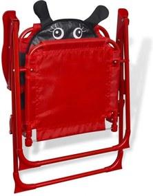 NABBI Ladybird detský záhradný set červená
