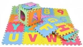 EVA Penové puzzle na zem veľké 36ks