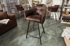 Bighome - Barová stolička LAFT - hnedá