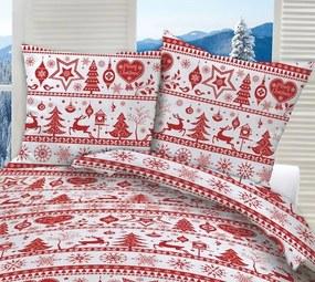 Obliečka Christmas red 40x40cm