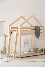 Domčeková poschodová posteľ Side Clasic rozměr lůžka: 70 x 140 cm