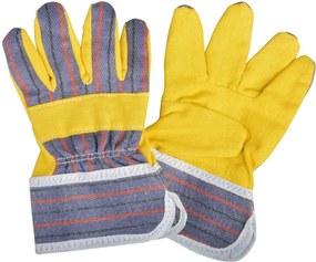 Detské žlté rukavice na záhradu Esschert Design