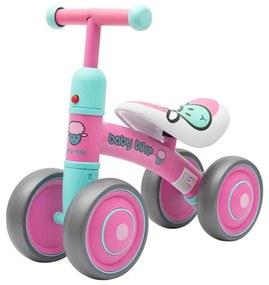 BABY MIX Nezaradené Detské odrážadlo Baby Mix Baby Bike ružové Ružová |
