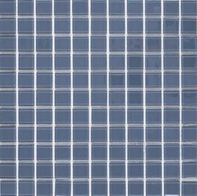 Sklenená mozaika Premium Mosaic světle šedá 30x30 cm lesk MOS25LGY