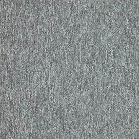 AKCE: 50x50 cm Kobercový čtverec Cobra 5542 tmavě šedá - 50x50 cm