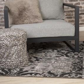 Obsession koberce Kusový koberec Tilas 240 Grey - 80x150 cm