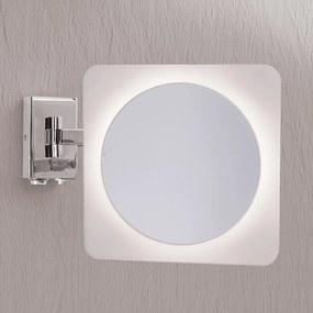 Zväčšovacie nástenné zrkadlo Tulsi s LED svetlom