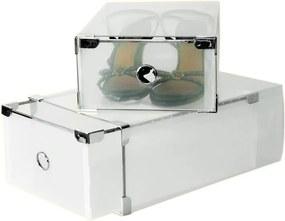 Set 2 boxov na topánky Jocca Plastic Boxes, 31×20cm