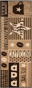 Zala Living - Hanse Home koberce Běhoun Coffee Break 67x180 Vibe 103494 brown - 67x180 cm