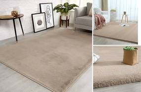 Béžový koberec Rabbit