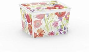 Plastový úložný box KIS C NATURE - CUBE