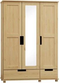 AMI nábytok Skříň Modern dub 133 cm