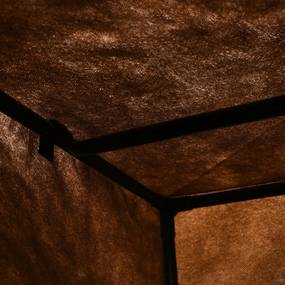 vidaXL Šatníky 2 ks hnedé 75x50x160 cm