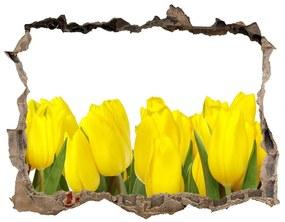 Samolepící nálepka fototapeta Žlté tulipány nd-k-2665979