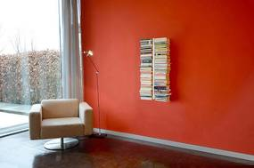 Knižnica 10 poličiek RADIUS DESIGN (BOOKSBAUM weiss WAND 1 KLEIN 720B) biela