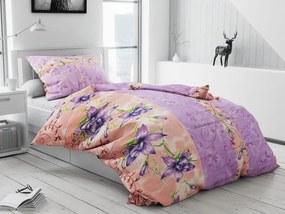 Bavlnené obliečky Kolin fialové