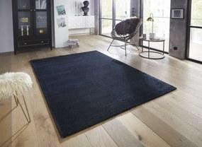 ELLE Decor koberce Kusový koberec Glow 103668 Dark blue z kolekce Elle - 80x150 cm