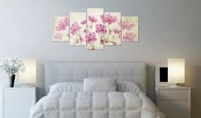 Obraz ružové kvety - Picture with Flower