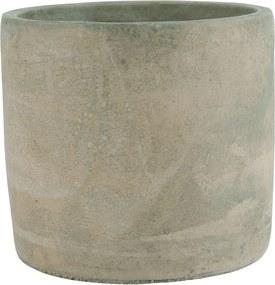 IB LAURSEN Betónový obal na kvetináč Brown Concrete