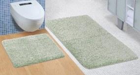 Brotex Kúpeľňová sada predložiek Micro 60x100 + 60x50cm zelena